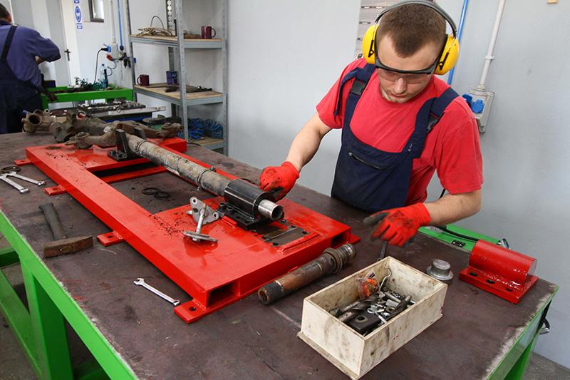 Réparation de suspension arrière
