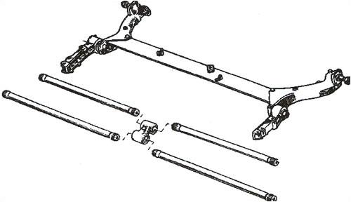 Réparation de la poutre arrière Renault Megane