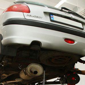 Essieu arrière Peugeot 206