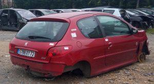 Peugeot 206 train essieu arrière