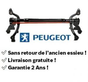 train arrière essieu Peugeot 206